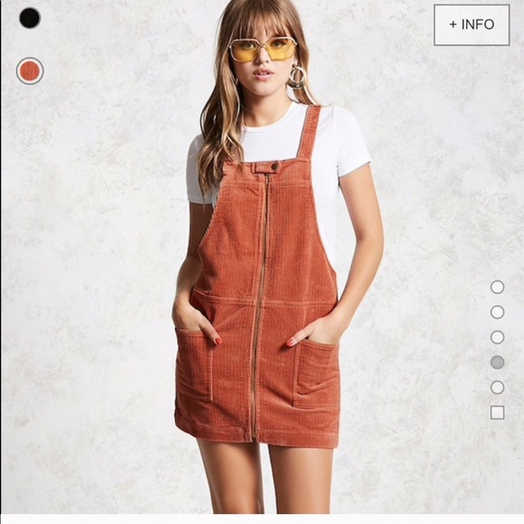 9a1c8ddfdd8 NWT salmon corduroy overall dress